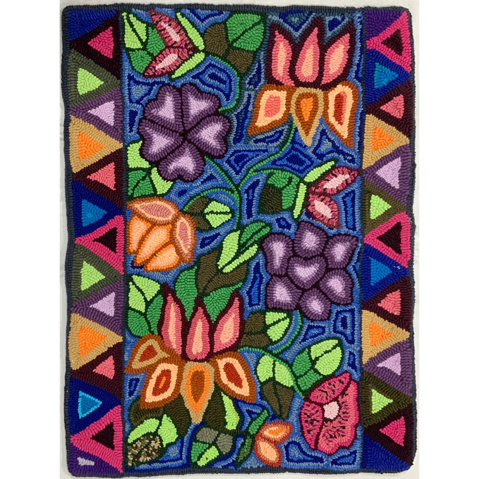 Medium Rug 24 X 32 Multicolores